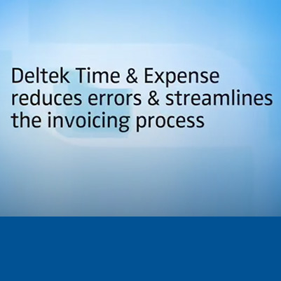Deltek Time and Expenses