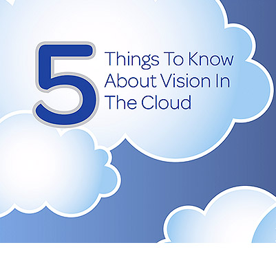 FIVE QUESTIONS ABOUT VISION IN THE CLOUD