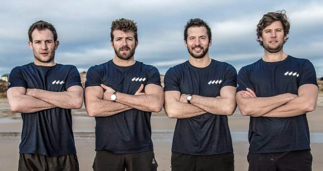 The Four Oarsmen, Benefitting MIND and Spinal Research