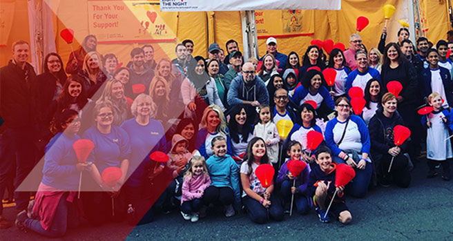 The Leukemia & Lymphoma Society's Light the Night Walk
