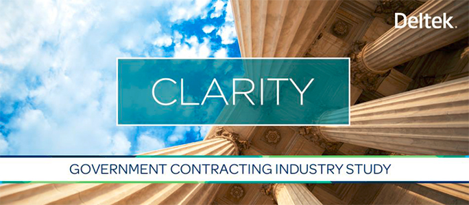 Deltek Clarity Government Contracting Industry Study