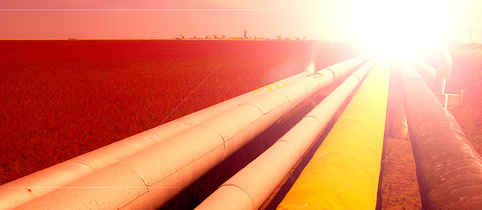 pipeline sunset