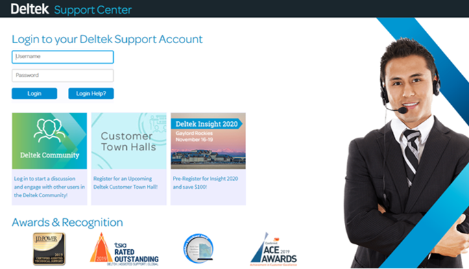 Deltek Support Center