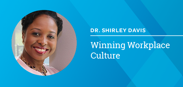 Dr Davis 2020 Winning Workplace Culture