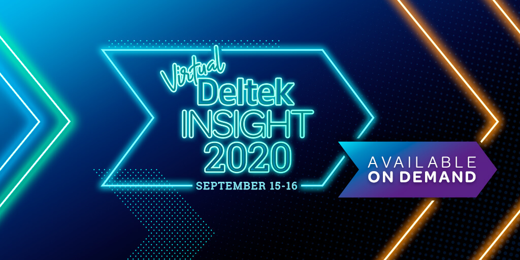 Top Sessions to Attend at Deltek Insight 2020