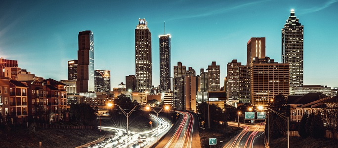 atlanta skyline greenbuild expo 2019