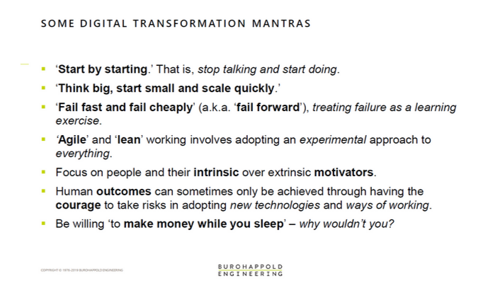 digital transformation mantras