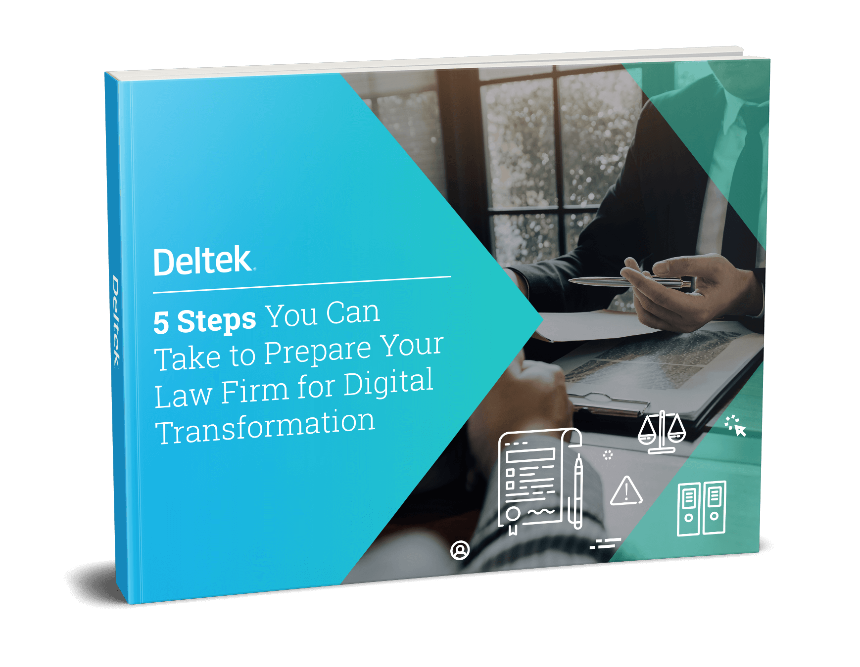 Guide: 5 Steps to preparing your law firm for digital transformation