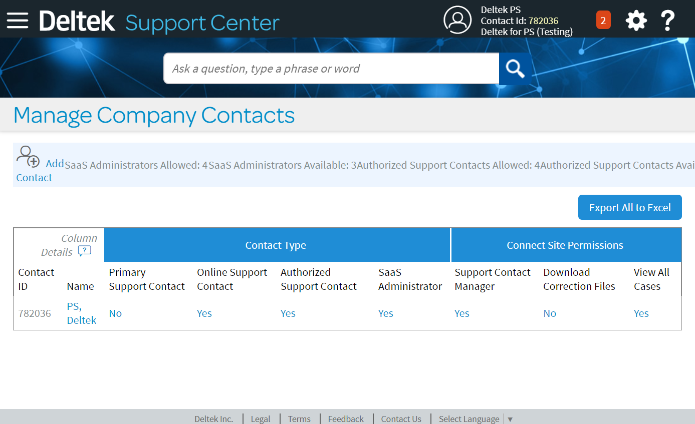 Deltek-Support-Add-Contact