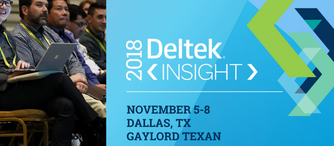 Deltek Insight 2018 Call for Speakers