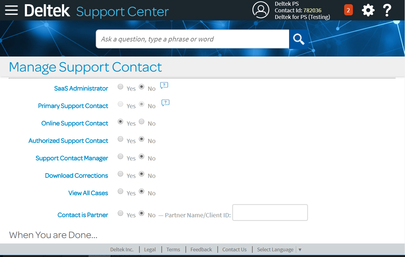 Deltek-Support-Manage-Access