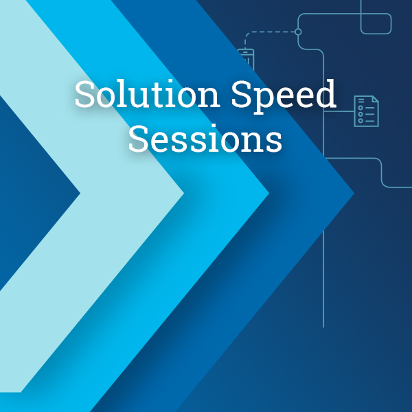 Solution Speed Session