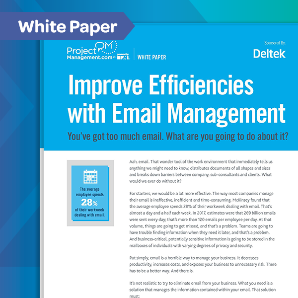 Email Management for AEC White Paper