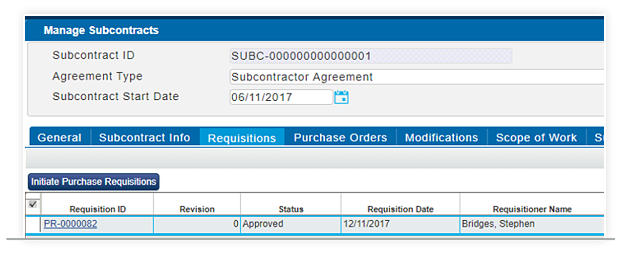 Streamline Subcontractor Purchase Orders