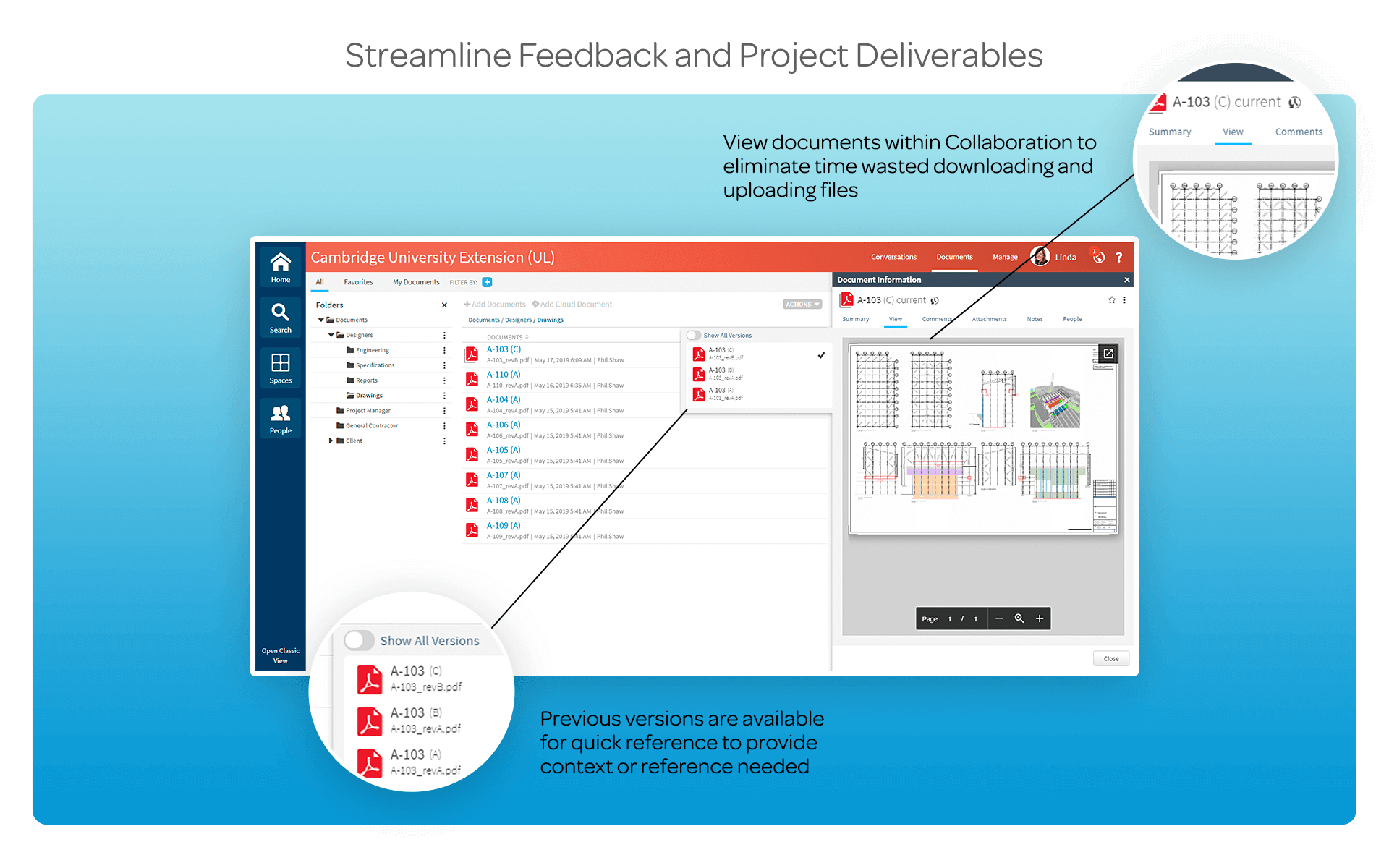 Streamline Feedback and Project Deliverables
