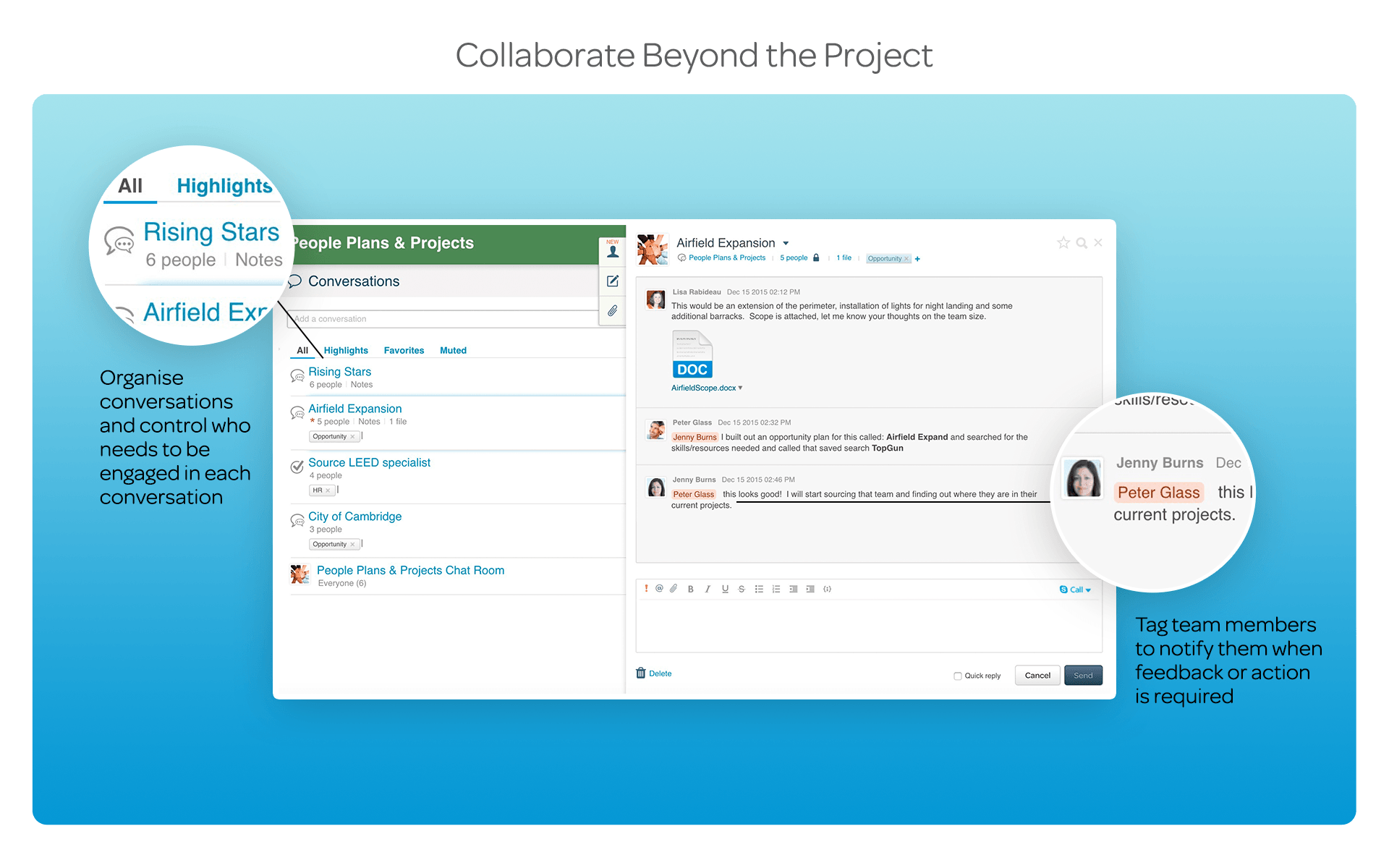 Collaborate Beyond the Project