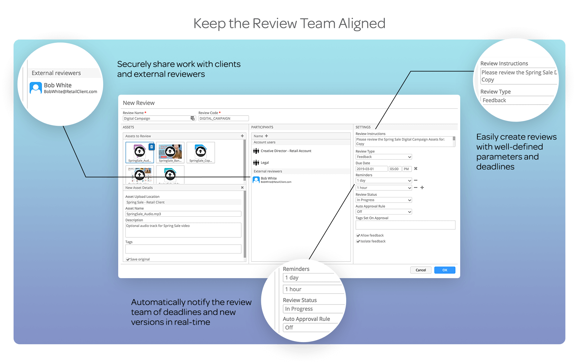 Keep Review Team Aligned