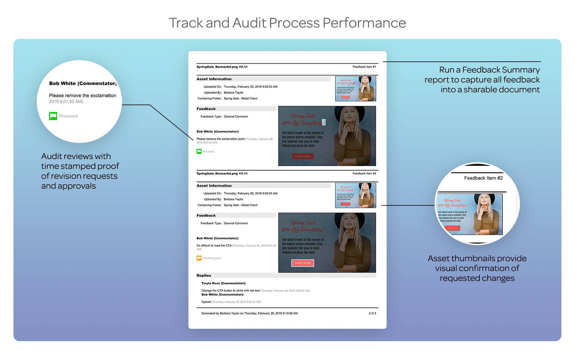 Track and Audit Process Performance