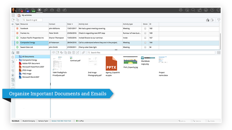 Organize Important Documents and Emails